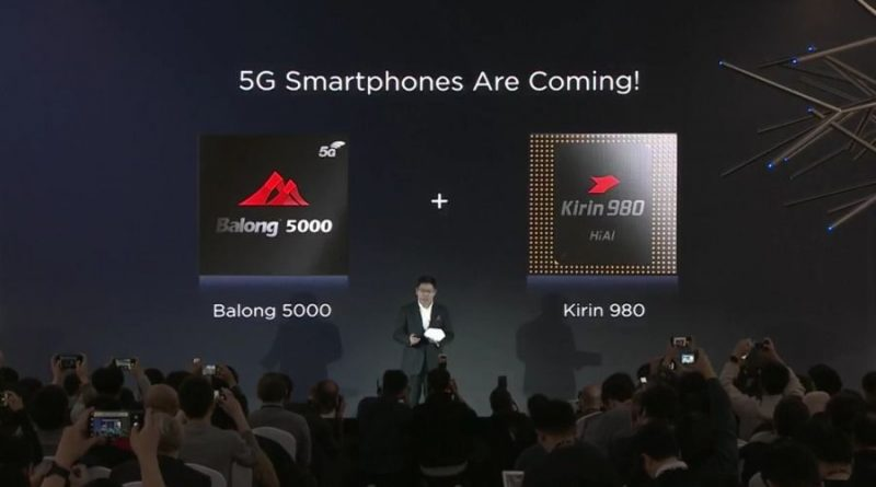 annonce smartphone pliage 5G