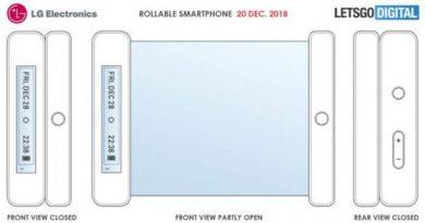 smartphone LG à Ecran enroulable