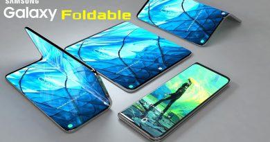 smartphone pliable samsung galaxy F