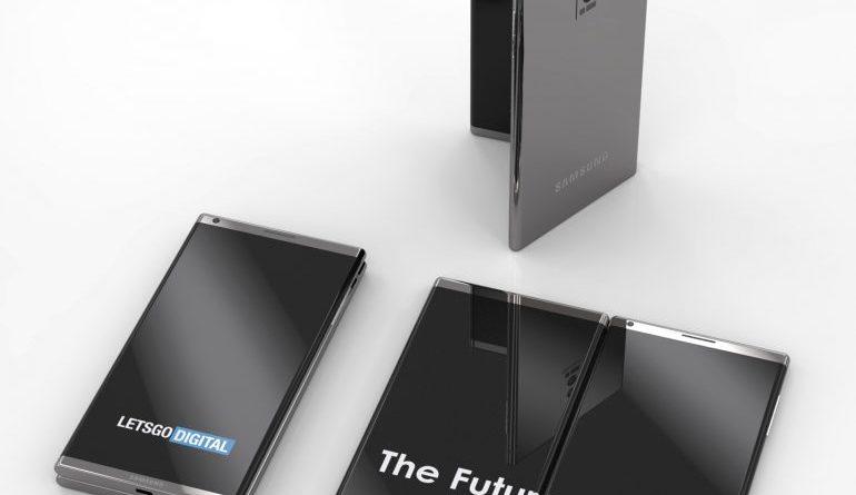 smartphone pliable Samsung : C'est quoi ces rendus 3D de ce brevet ?
