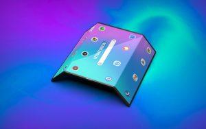Un smartphone qui se plie en trois