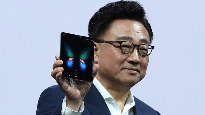 smartphone pliable Samsung Galaxy Fold : le gros défaut
