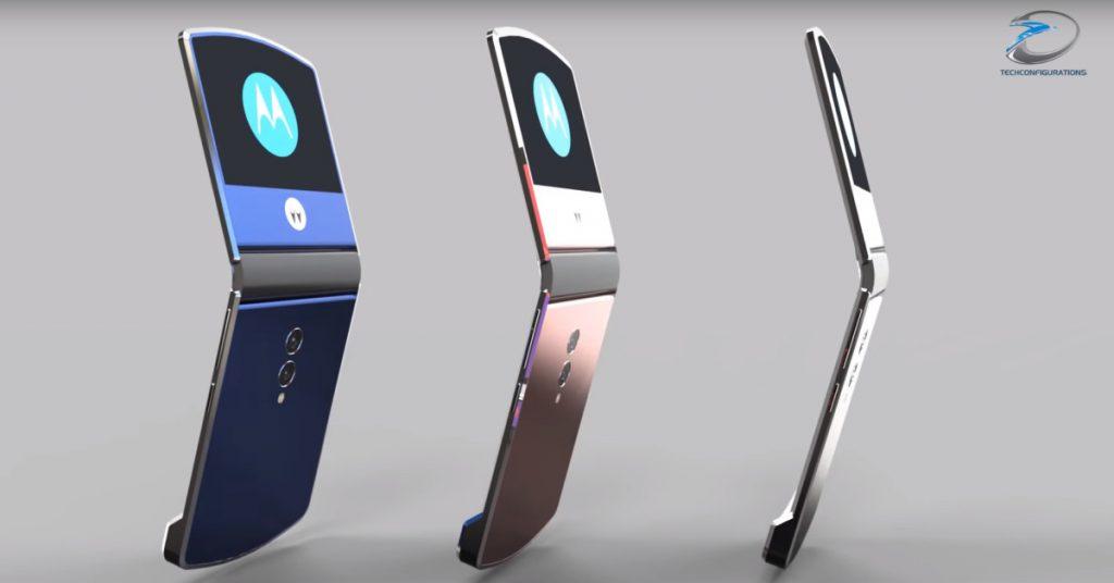 Motorola RAZR : Smartphone pliable